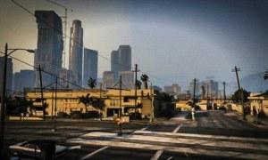 Grand Theft Auto V landscape