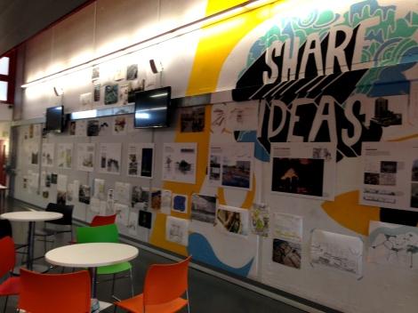 Thamesmead Arts Festival landscape design student exhibition