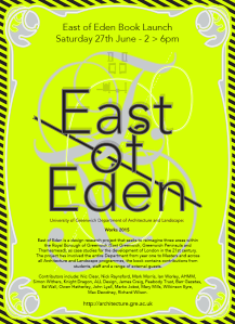East of Eden Book Launch Greenwich