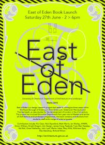 East of Eden Book Launch Greenwich
