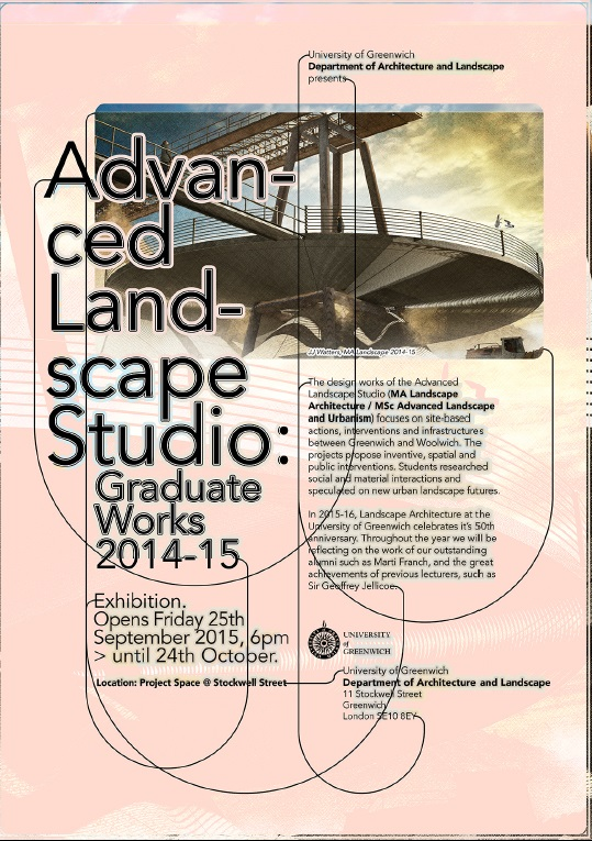 Advanced landscape studio an exhibition of design for Advanced landscape design