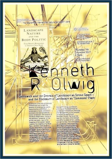 Kenneth Olwig Greenwich Lecture